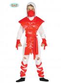 Fato Ninja Assassino Vermelho