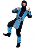 Fato Ninja Azul