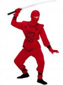 Fato Ninja dragão vermelho