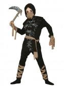 Fato Ninja fantasma infantil