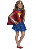 Fato para menina da Super Mulher