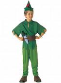 Fato Peter Pan na Terra do Nunca