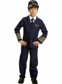 Fato Piloto de avião azul