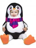 Fato Pinguim Balão Bebé