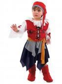 Fato Pirata bebé menina