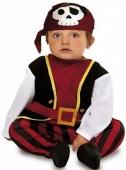 Fato Pirata Caveira para bebé