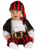 Fato Pirata corsário para bebé