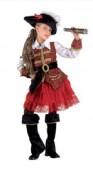 Fato Pirata do Tesouro Menina