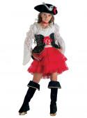Fato Pirata dos 7 Mares Menina