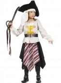 Fato Pirata dos Sete Mares Menina