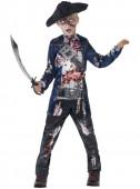 Fato Pirata zombie deluxe