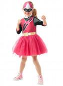 Fato Power Ranger Rosa Menina
