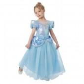 Fato Princesa Cinderela Premium Disney