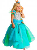 Fato Princesa dos Mares para menina