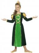 Fato Princesa medieval reluzente