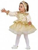 Fato Princesa Ouro Bebé
