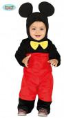 Fato Rato Mickey Bebé