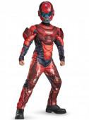 Fato Red Spartan musculoso