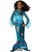 Fato Sereia Magica Blue
