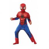 Fato Spiderman Músculos Deluxe