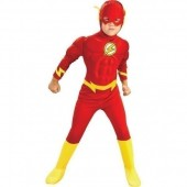 Fato super heroi flash