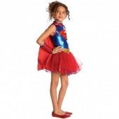 Fato Supergirl com Tule