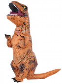 Fato T-Rex insuflável Jurassic World para menino