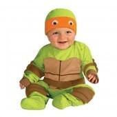 Fato Tartaruga Ninja bebé