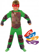 Fato Tartarugas Ninja clássico