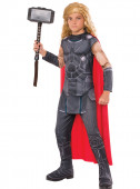 Fato Thor musculoso com caixa