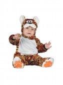 Fato Tigre Adorável Laranja para Bebé