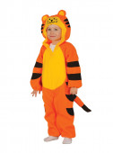 Fato tigre adorável para bebé