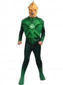 Fato Tomar-Re Musculoso Lanterna Verde