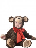 Fato Ursinho com laço para bebé