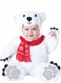 Fato Ursinho polar deluxe adorável para bebé