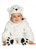 Fato Ursinho Polar para Bebé
