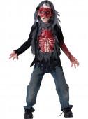Fato Zombie Sangrento Menino
