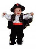 Fato Zorro Menino Bebé
