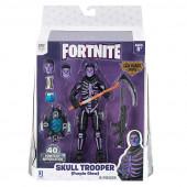 Figura + Acessórios Fortnite Skull Trooper - Purple Glow