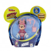 Figura Articulada da Minnie - Mickey and the Roadster Racers