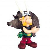 Figura Astérix com Javali - Astérix e Obélix