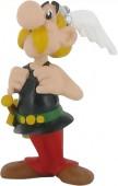 Figura Astérix segurando os suspensórios