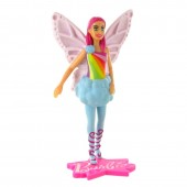 Figura Barbie Fada fantasia dreamtopia