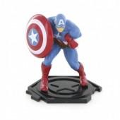 Figura Capitão America Avengers 9cm