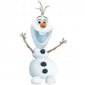 Figura Cartão Disney Frozen Olaf