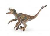 Figura dinossauro Velociraptor com Plumas Papo