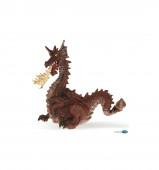Figura Dragão Vermelho com Fogo Papo