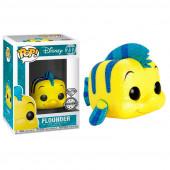 Figura Funko POP! Disney The Little Mermaid - Flounder (Glitter Exclusive)