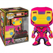 Figura Funko POP! Marvel - Iron Man (Black Light)