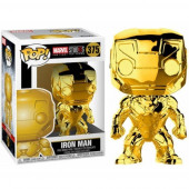 Figura Funko POP! Marvel Studios The First Ten Years - Iron Man Chrome
